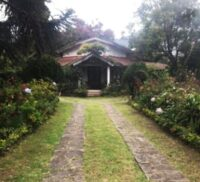 The Rose Cottage in Kodaikanal, where the elementary course took its roots in India.